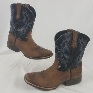 Ariat cowboy western boots mems Sz 6